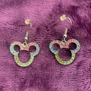 Disney Mickey Mouse pierced dangle earrings